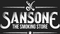 logo sansone smoking store bianco