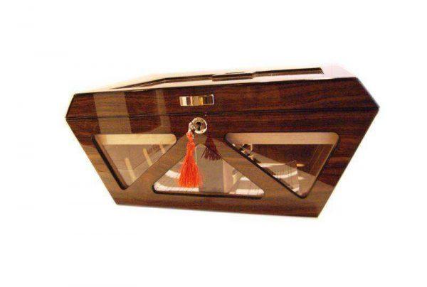 Lubinski humidor vetro Prisma
