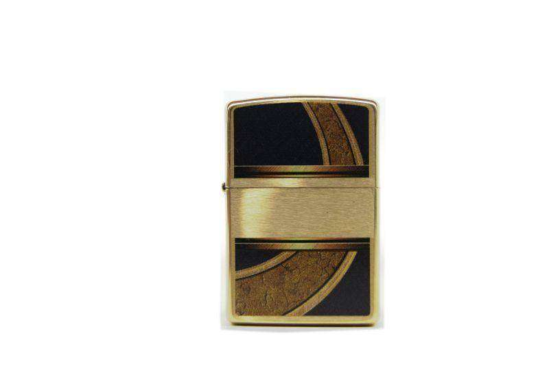 Zippo Antique brass Liberty decoration