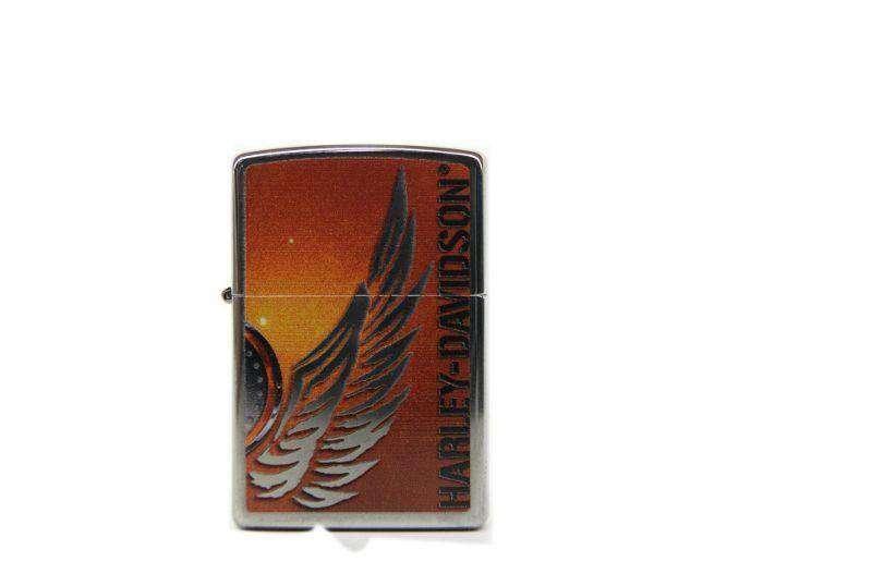 Zippo Harley Davidson american eagle wing