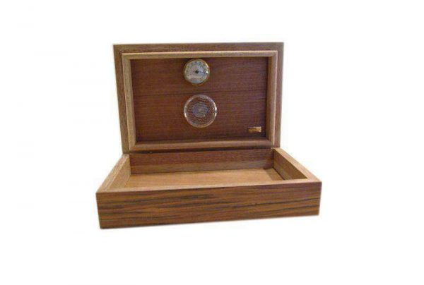 Humidor Cartujano in mogano e rosewood 30 pz.