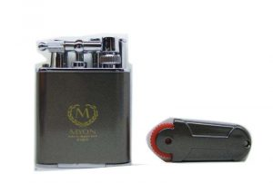 Myon double jet flint Lighter grigio