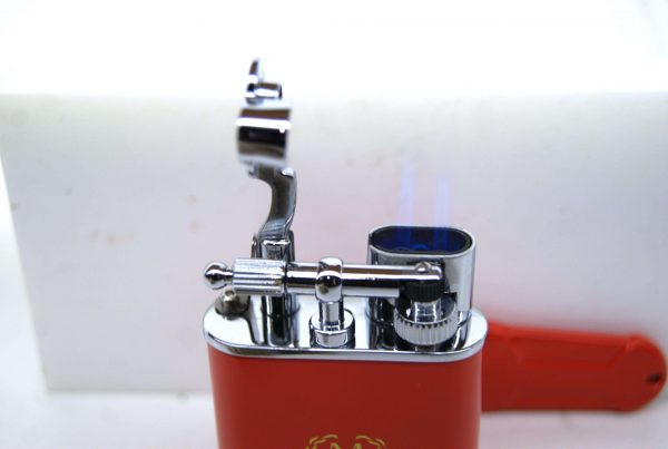 Myon double jet flint Lighter rosso