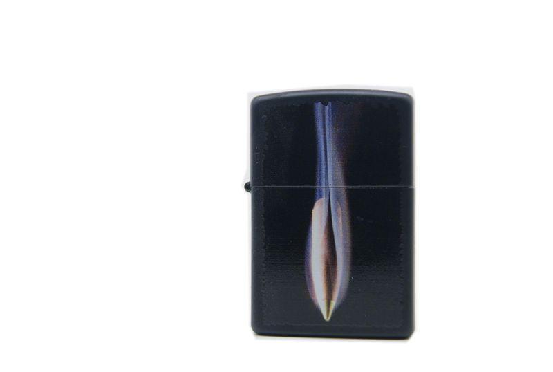 Zippo black bullet