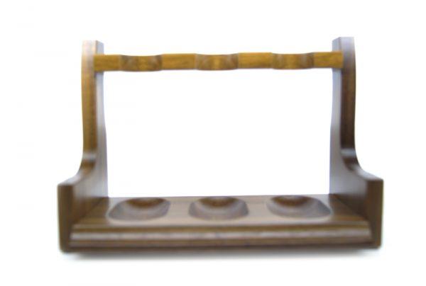Brebbia 70's style 3 pipe rack