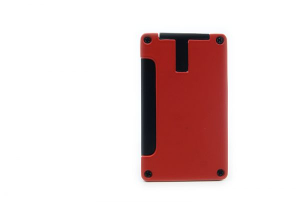 Adorini jet double punch steel red.
