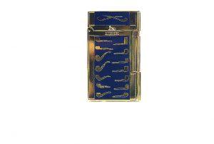 Lubinsky blu golden pipe Lighter.