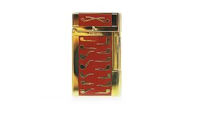 Lubinsky red golden pipe Lighter