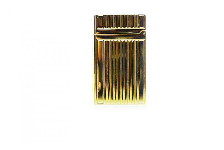 Lubinsky golden stripes pipe lighter.