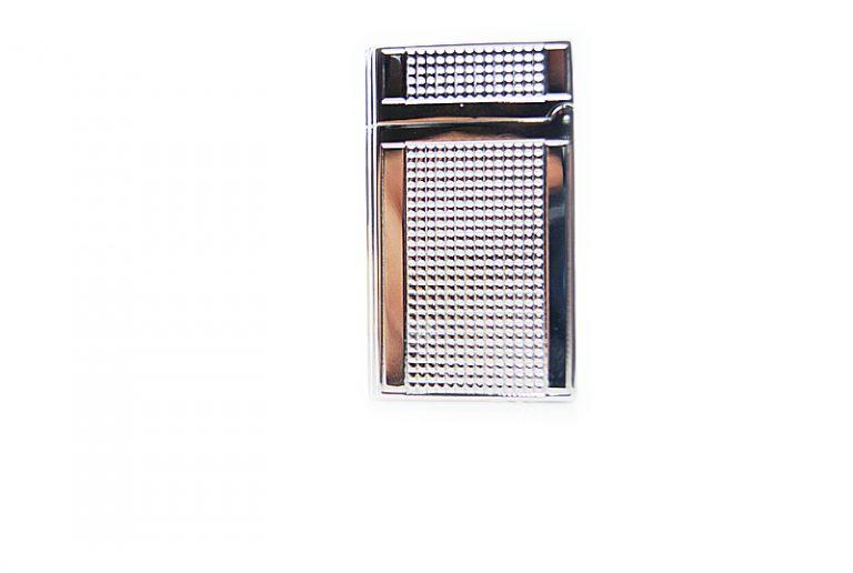 Lubinsky silver prismatic lighter.