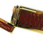 Lubinsky brown golden pipe Lighter.