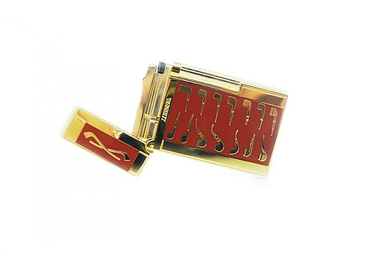 Lubinsky red golden pipe Lighter