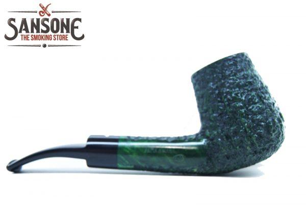 05Caminetto sandblasted green chimney