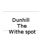 Dunhill the white spot